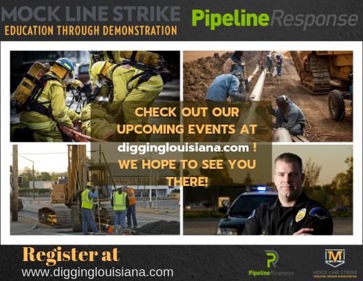 Free Louisiana PipelineResponse and Mock Line Strike Meetings